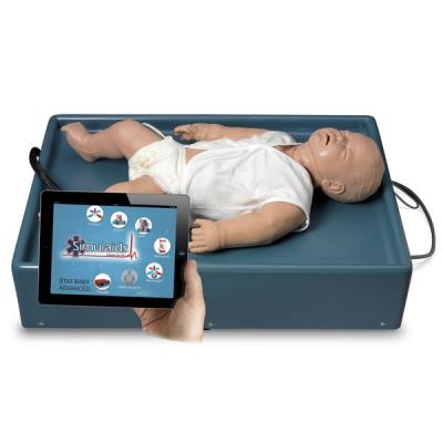 Simulador avançado com respiração espontânea Stat Baby