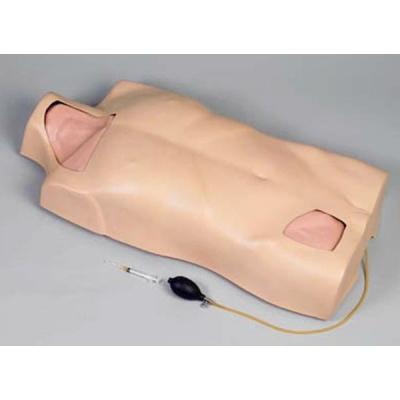 Modelo de torso para punção venosa central de função completa