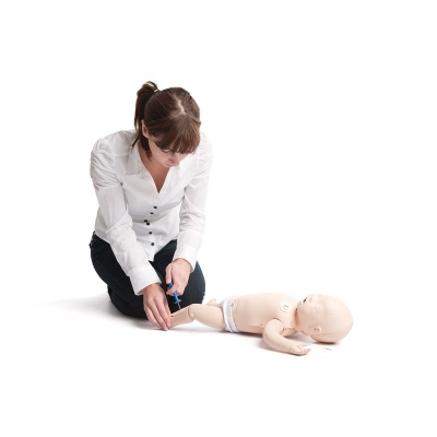 Manequim para Medidas de Reanimação com Simulador de ECG