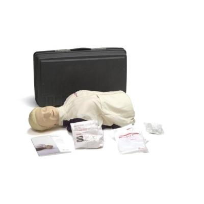Manequim para treinamento de RCP Resusci Anne Torso com maleta rígida para transporte e armazenamento