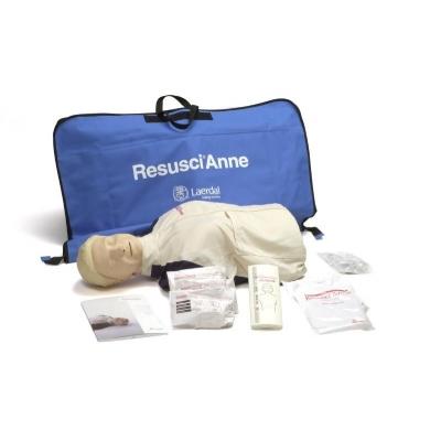 Manequim RCP Resusci Anne Torso com Monitor SkillGuide e sacola de nylon
