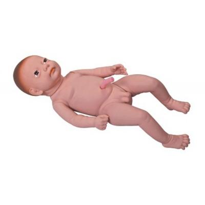 Bebê para cuidados com cordão umbilical