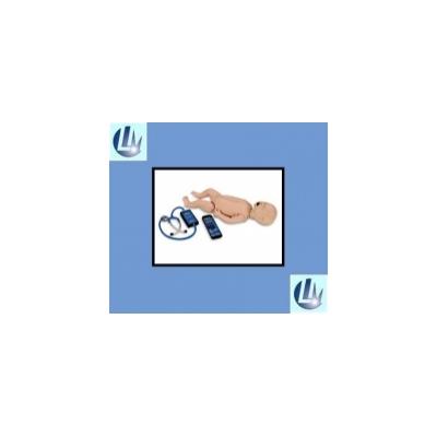 Simulador Avançado Bebê Para RCP, Intubação, Ausculta Cardiaca, Pulmonar e Intestinal com Controle Remoto